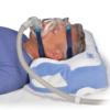 Oreiller CPAP Contour en position couchée
