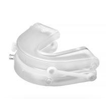 Gouttière d'avancement mandibulaire SomnoGuard SP Soft avec vue latérale